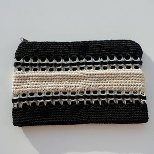 Two-toned Cosmetic purse