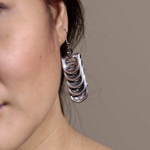 Bend earrings