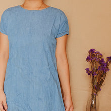 Load image into Gallery viewer, Chambray Little Dress