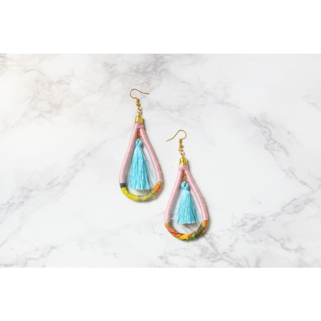 Coco Earrings - Sky - Accessories