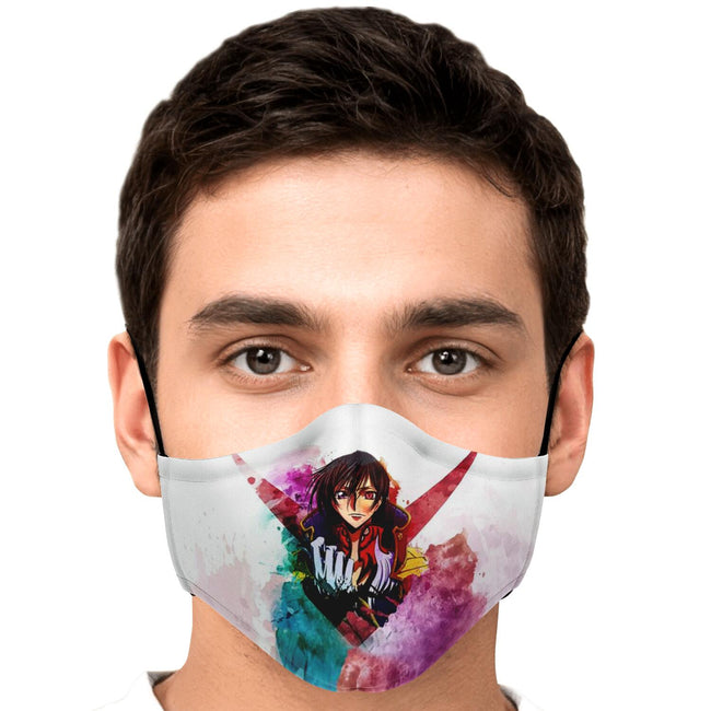 Lelouch of the Rebellion Code Geass Premium Carbon Filter Face Mask