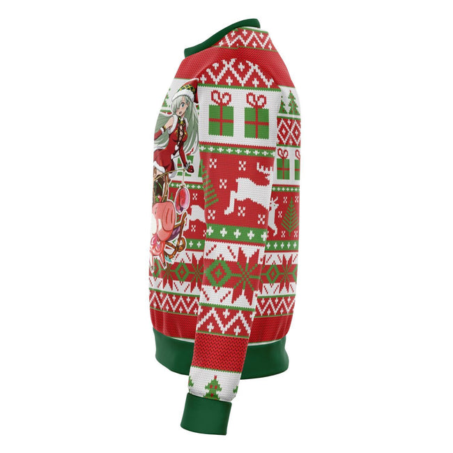 7 Deadly Sins 3D Ugly Christmas Sweater