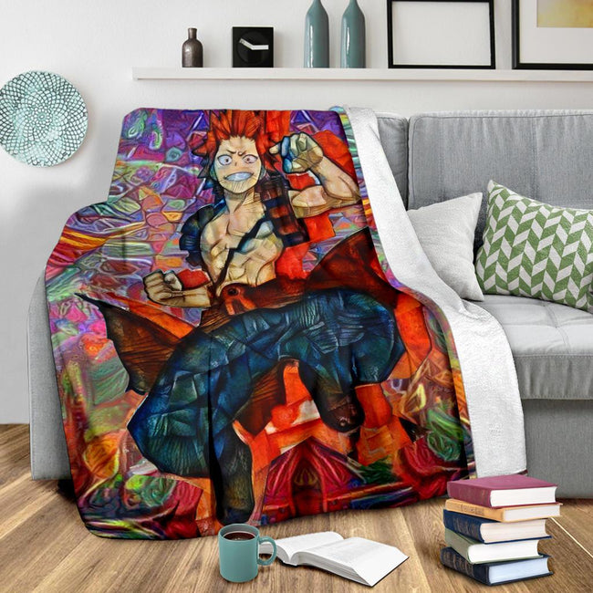 Abstract Eijiro Kirishima Blanket
