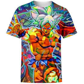 Abstract Goku DBZ T-Shirt