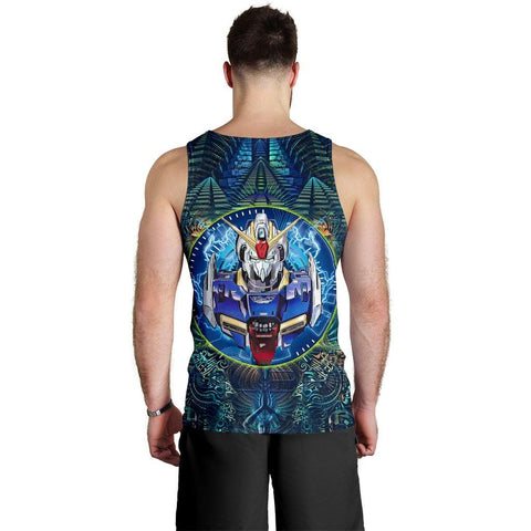 Abstract Gundam Premium Tank Top