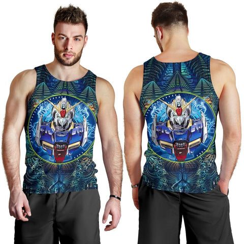 Image of Abstract Gundam Premium Tank Top