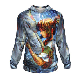 Abstract spirited away Hoodie