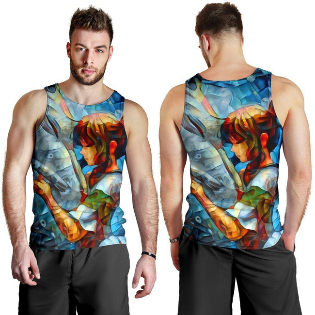 Abstract spirited away Premium Tank Top