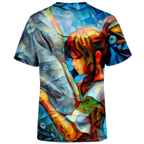 Image of Abstract spirited away T-Shirt