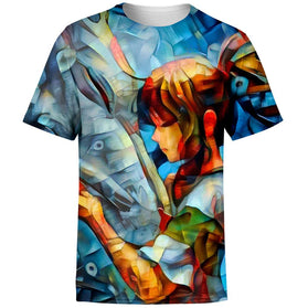Abstract spirited away T-Shirt