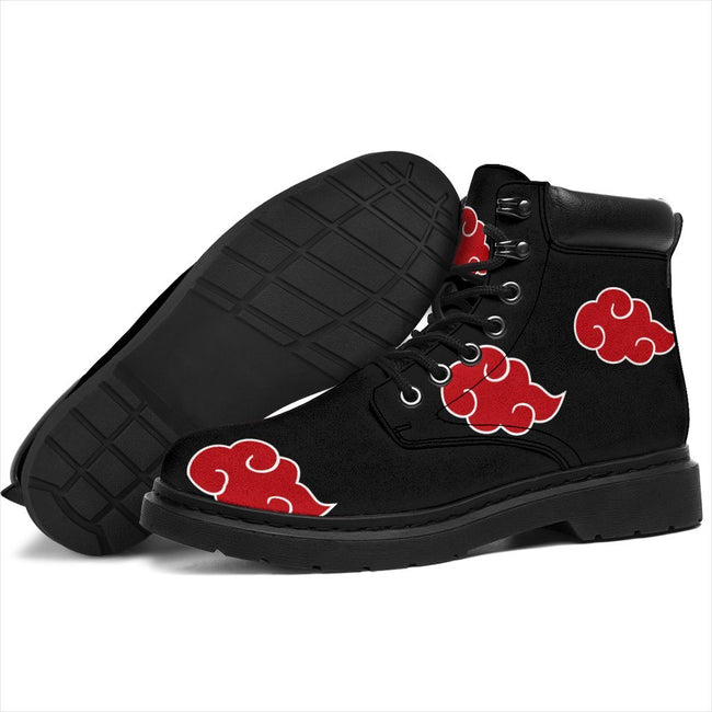 Akatsuki Naruto Custom All-Season Boots