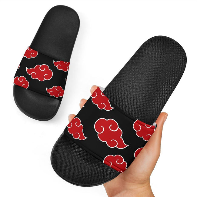 Akatsuki Naruto Custom Slide Sandals