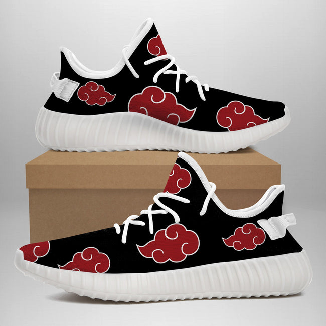 Akatsuki Cloud Vans Shoes Akatsuki Naruto Shippuden Custom Anime Vans