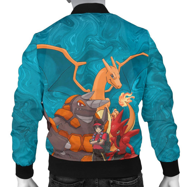 Ash With Pokemons Custom Bomber Jacket