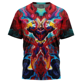 Atmospheric Blast All Might T-Shirt