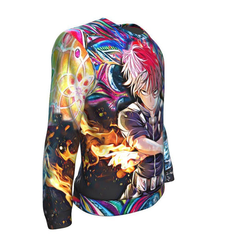 Awakened Shoto Todoroki Sweatshirt