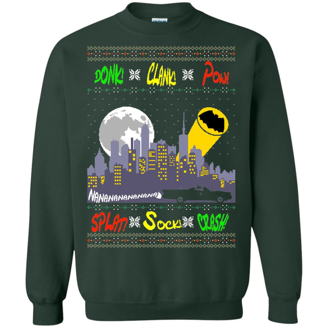 Batman Classic Sounds Ugly Christmas Sweater
