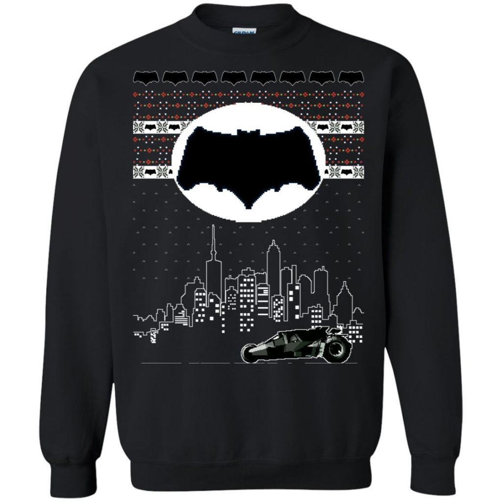Batman Nightrider Ugly Christmas Sweater