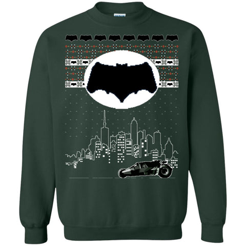 Image of Batman Nightrider Ugly Christmas Sweater
