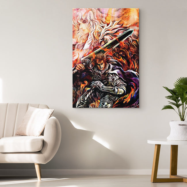 Berserk Canvas Wall Art