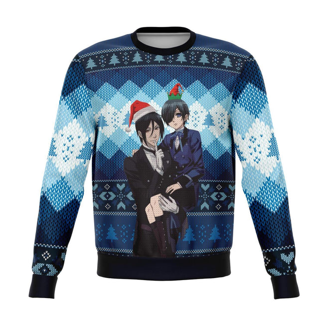 Black Butler 3D Ugly Christmas Sweater