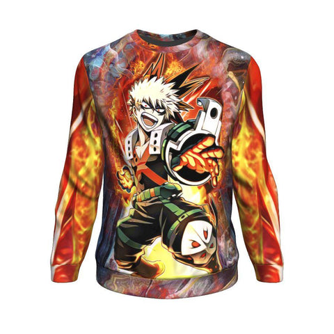Image of Blazing Bakugo Sweatshirt