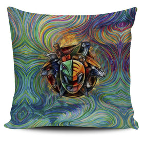 Blazing Power Rangers Pillow Cover
