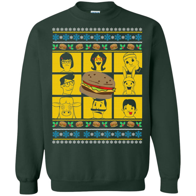 Burger Ugly Christmas Sweater
