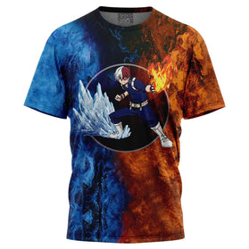 Burning Fire Shoto T-Shirt