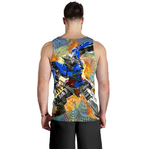 Image of Burning Gundam Premium Tank Top