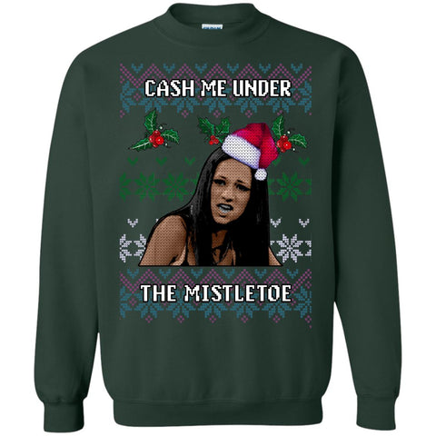 Cash Me Under Ugly Christmas Sweater