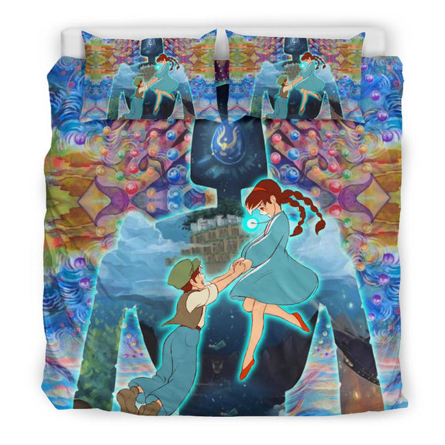 castle in the sky Bedding Set