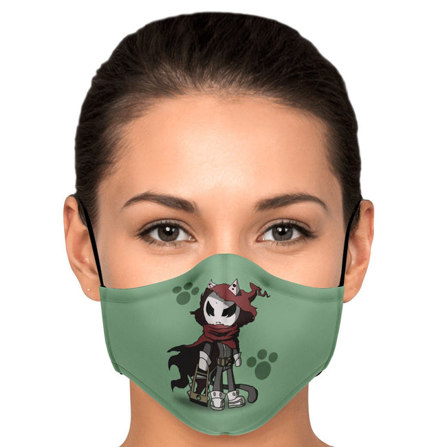 Cat Army Boss Dream Eater Merry Premium Carbon Filter Face Mask