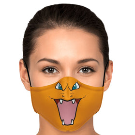 Charizard Pokémon Premium Carbon Filter Face Mask