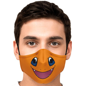 Charmander Pokémon Premium Carbon Filter Face Mask