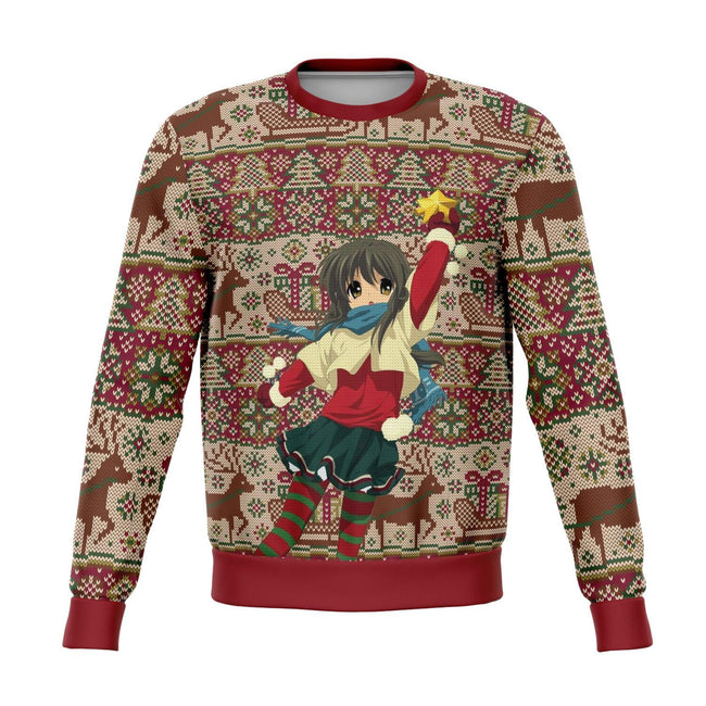Clannad 3D Ugly Christmas Sweater