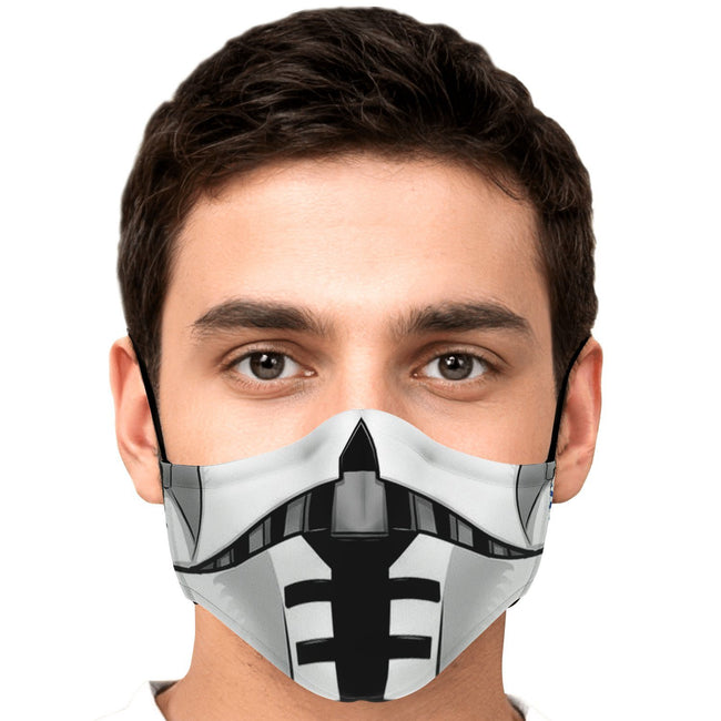 Commander Cody Star Wars Premium Carbon Filter Face Mask