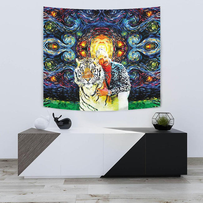 Cosmic Joe Exotic Wall Tapestry