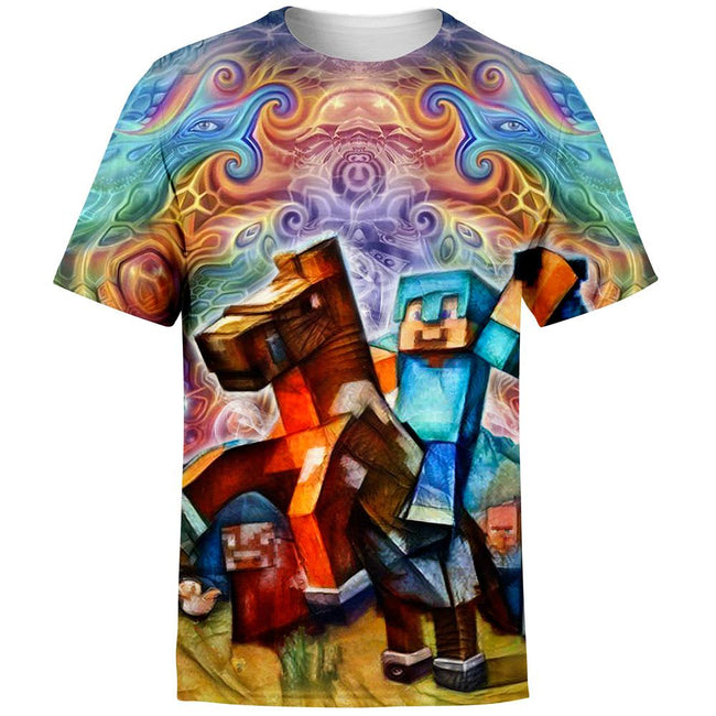 Cosmic Minecraft T-Shirt