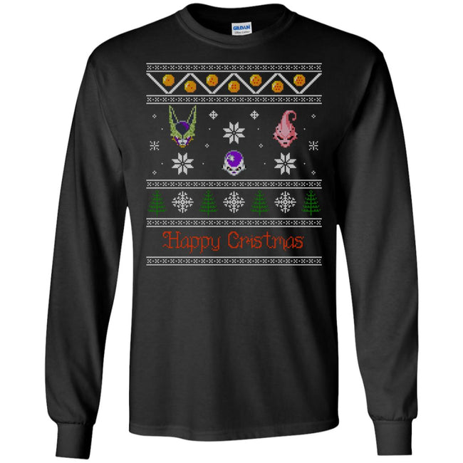 DBZ Enemies Ugly Christmas Sweater