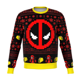 Deadpool 3D Ugly Christmas Sweater
