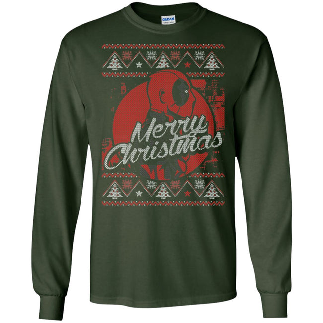 Deadpool Xmas Ugly Christmas Sweater