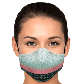 Demon Slayer Kimetsu Pattern Premium Carbon Filter Face Mask