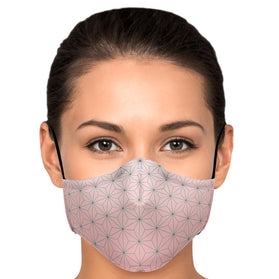 Demon Slayer Nezuko Pattern Premium Carbon Filter Face Mask