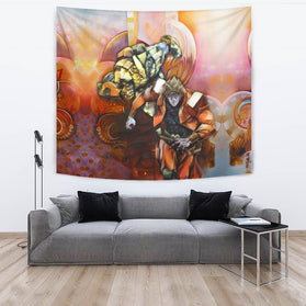 Dio Brando The World Jojo's Bizarre Adventure Wall Tapestry