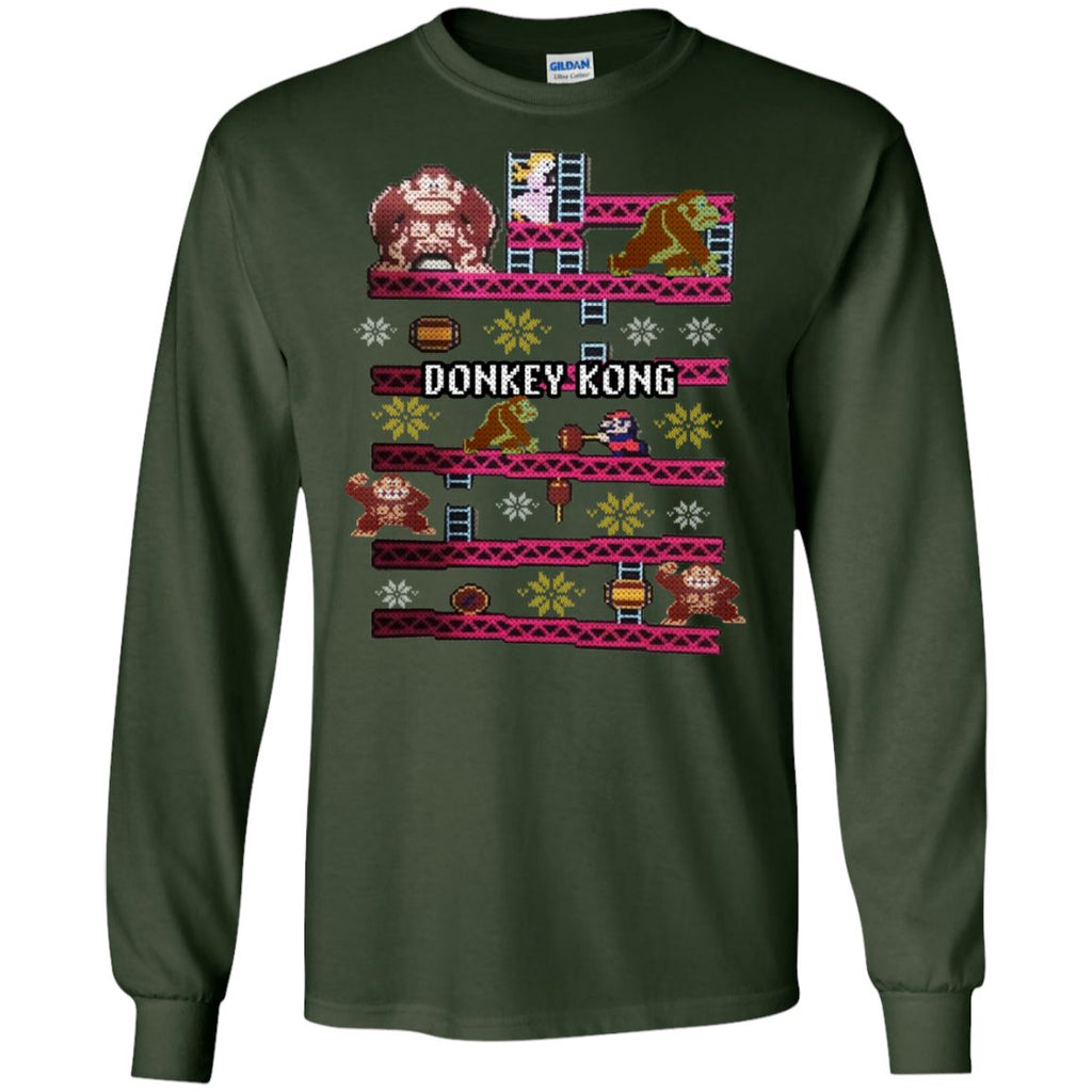 Donkey Kong Ugly Christmas Sweater