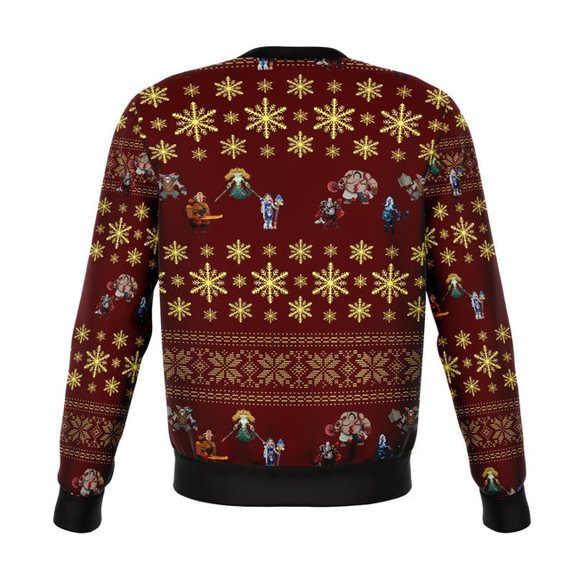 Dota2 3D Ugly Christmas Sweater