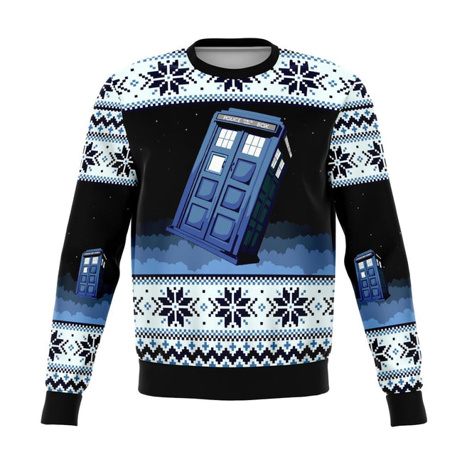 Dr. Who 3D Ugly Christmas Sweater