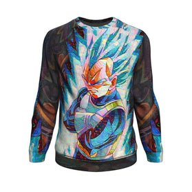 Dragon Ball Z Blazing Vegeta Sweatshirt