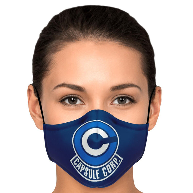 Dragonball Z Capsule Corp. Premium Carbon Filter Face Mask